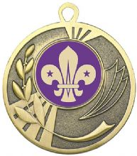 Bronze 50mm Scouts Medal